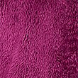 Faux Fur Long Sleeve Fleece Jacket, DARK MAGENTA, swatch