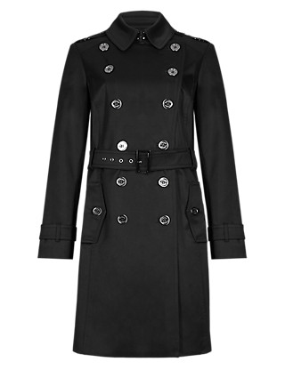 Belted Trench Coat with Stormwear™ Clothing
