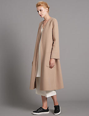 Double Belted Coat