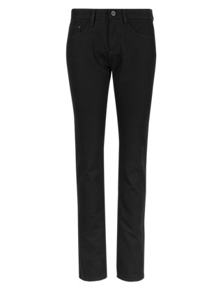 Cropped Skinny Trousers Clothing