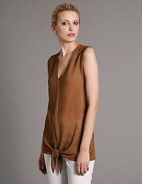 Tape Knitted Tunic