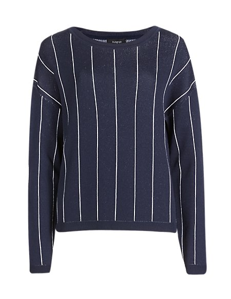 Vertical Striped Jumper