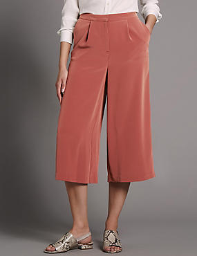 Fluid Wide Leg Culottes