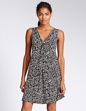 Amalfi Vest Shift Beach Dress