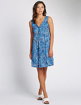 Paisley Jersey Beach Vest Dress with Cool Comfort™ Technology