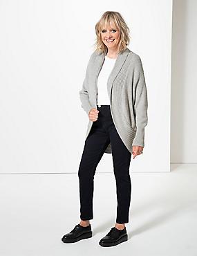 Mid Rise Skinny Leg Jeans, INDIGO, catlanding