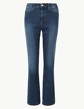 Sculpt & Lift Roma Rise Slim Boot Cut Jeans, MEDIUM BLUE, catlanding