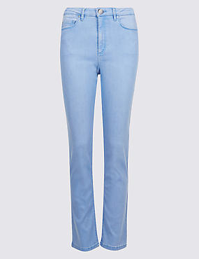 Sculpt & Lift Roma Rise Slim Leg Jeans, LIGHT BLUE, catlanding