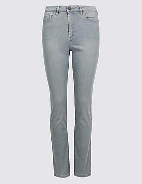 Sculpt & Lift Roma Rise Slim Leg Jeans, MEDIUM GREY, catlanding