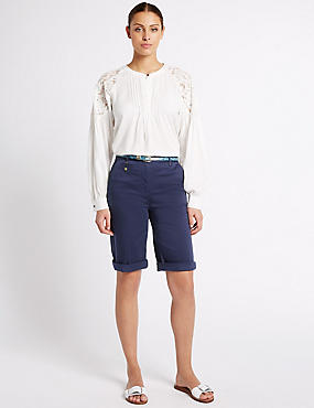 Cotton Rich Chino Shorts