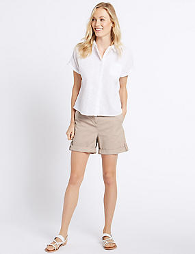 Pure Cotton Chino Boy Shorts