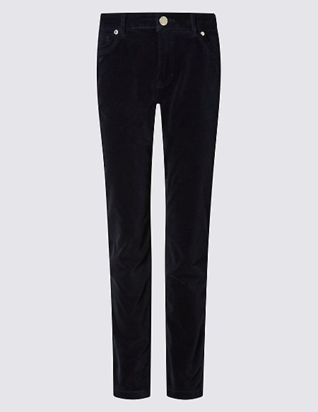 Cord Slim Leg Trousers