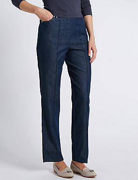 Ultimate Comfort Tapered Leg Jeans
