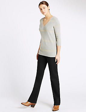 Sculpt & Lift Slim Boot Cut Jeans