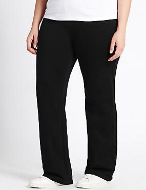 PLUS Cotton Rich Straight Leg Joggers