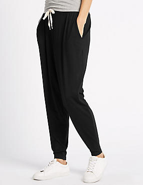 Plus Wide Leg Hareem Jogger with StayNEW™