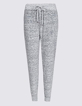 Cotton Rich Velour Joggers
