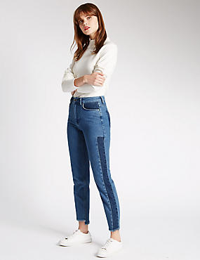 Pure Cotton Slim Leg Jeans