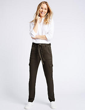 Pure Modal Cargo Trousers