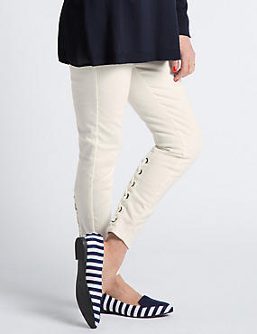 Lace Up Super Skinny Jeans