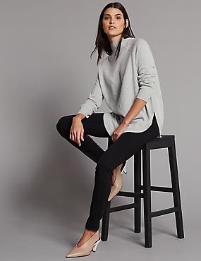 360 Contour Skinny High Waist Jeans, BLACK MIX, catlanding