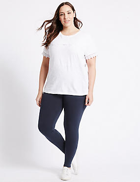 PLUS Cotton Rich Core Leggings