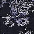 Cotton Rich Floral Print Leggings, NAVY MIX, swatch