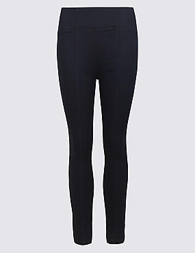 Panelled High Waist Jeggings
