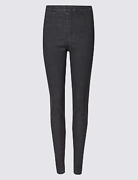 Cotton Rich Jeggings, CHARCOAL MIX, catlanding