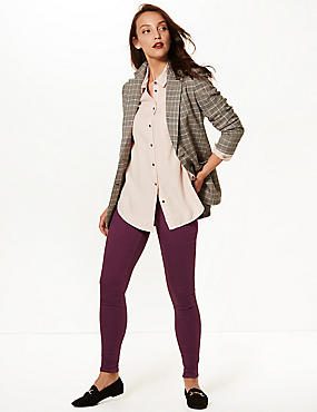Cotton Rich Jeggings, BURGUNDY, catlanding