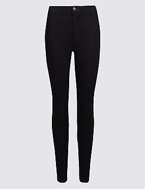 PETITE High Waist Super Skinny Jeggings