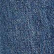 Mid Rise Straight Leg Cropped Jeans, MEDIUM INDIGO, swatch