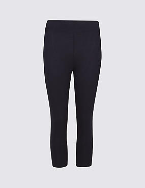 Cotton Rich Cropped Leggings