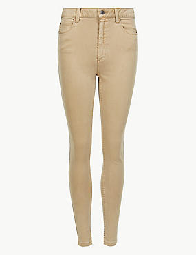 Mid Rise Super Skinny Jeans, LIGHT BUFF, catlanding