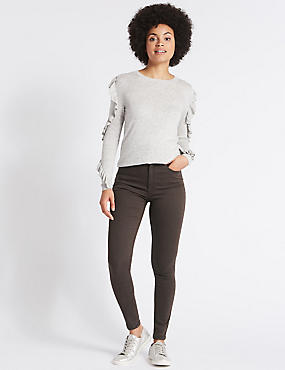 Mid Rise Super Skinny Jeans