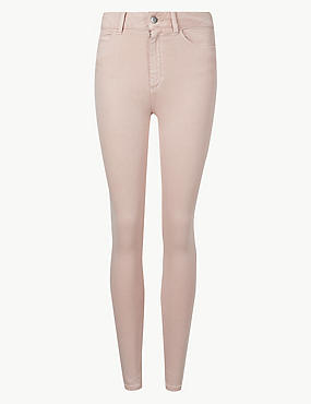 Mid Rise Super Skinny Jeans, MELBA BLUSH, catlanding