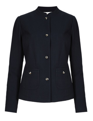 Piqué Ponte Jacket Clothing