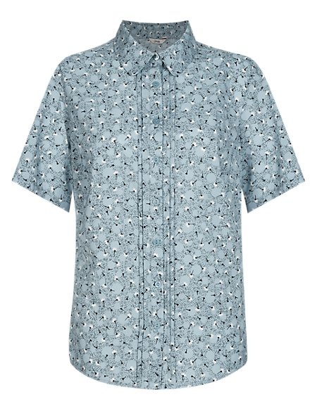 Easy Care Floral Ditsy Shirt