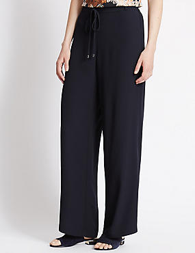 Straight Leg Beach Trousers