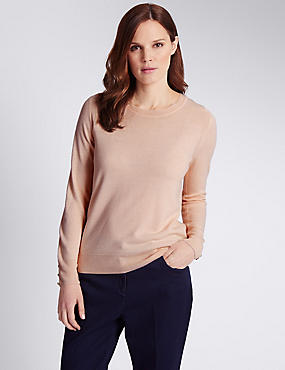 Cashmilon™ Scoop Neck Jumper