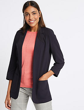 Patch Pocket Blazer, NAVY, catlanding