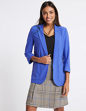 Patch Pocket Blazer, ROYAL BLUE, catlanding