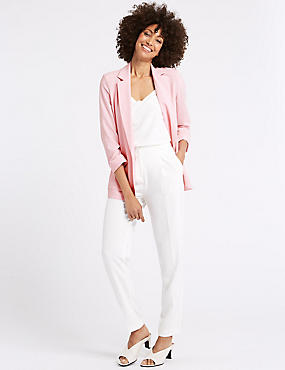 Patch Pocket Blazer, SUGAR PINK, catlanding