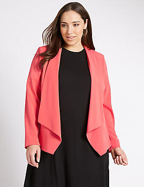 PLUS Long Sleeve Waterfall Jacket