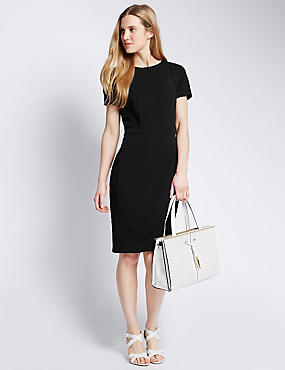 Square Front Shift Dress