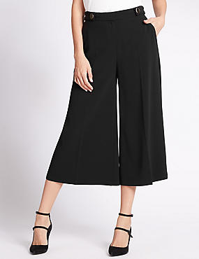 Tabby Culottes Wide Leg Trousers