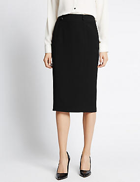 Stitched Pencil Skirt