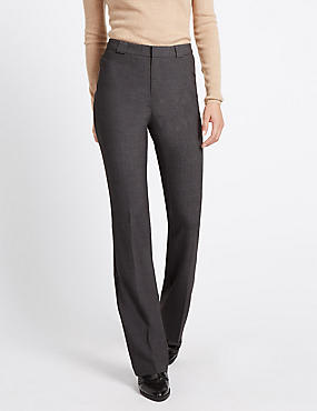 Slim Boot Leg Trousers
