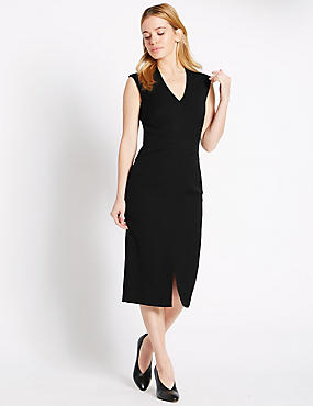 PETITE Sleeveless Shift Dress