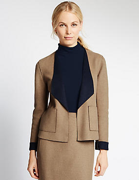 Tailored Fit Double Face Jacket